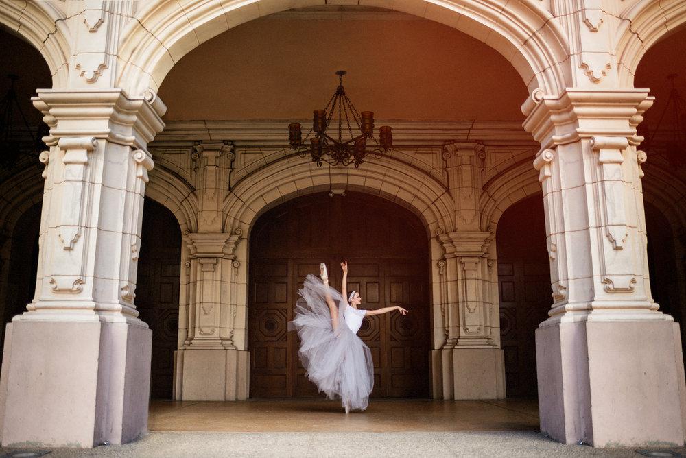San Diego Ballet Photography | Balboa Park | Caitlyn Feddock | Ernie & Fiona Photography