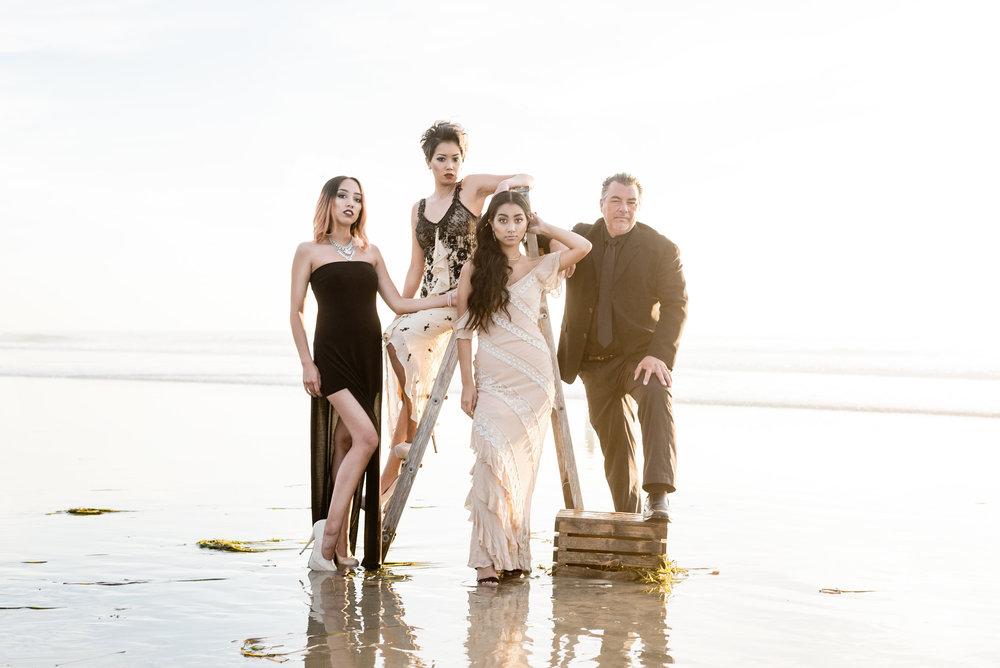 San Diego Vanity Fair Family Portrait Photo Shoot