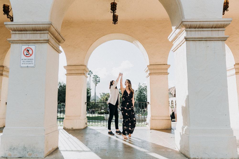 San Diego Engagement Photography | Balboa Park