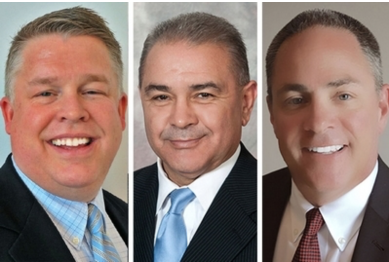 Tom Barbera, JD Salazar and Joe Voet created the Schaumburg-based firm, Industrial Outdoor Ventures