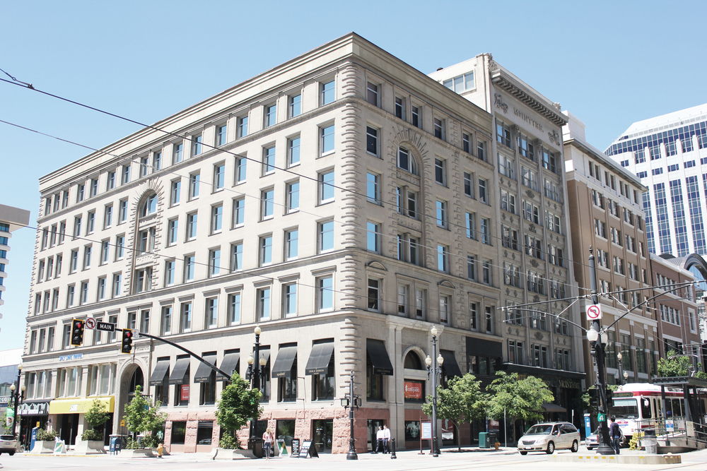 The McCornick Building, where Plant Christensen & Kanell was started as Stewart & Stewart in 1895.