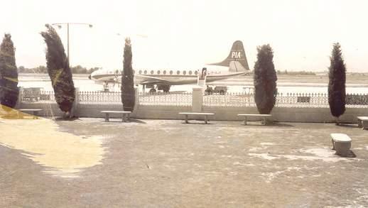 Peshawar Airport, 1960s.