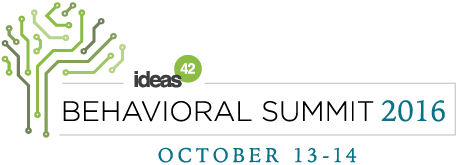 ideas42 Behavioral Summit 2016