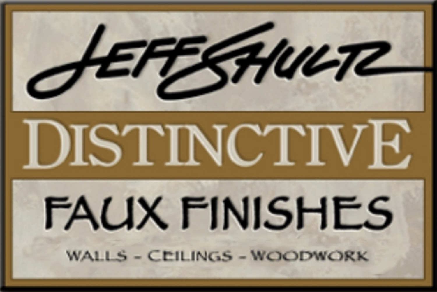 Jeff Shultz Distinctive Faux Finishes