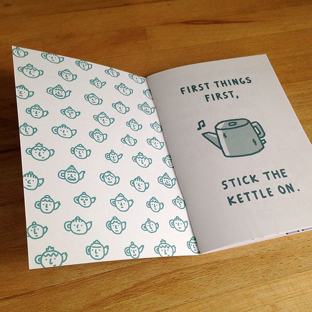 A Cup of Tea Will Sort You Out is now available online. Stick the kettle on and grab your copy here -  https://www.etsy.com/uk/shop/AndyPoyiadgi