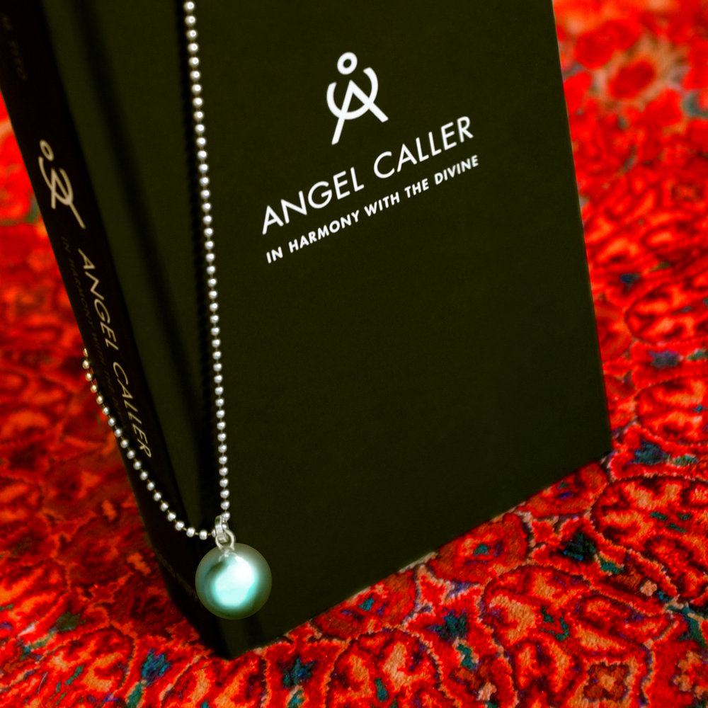 Angel Caller Book and Italian 925 Sterling Silver