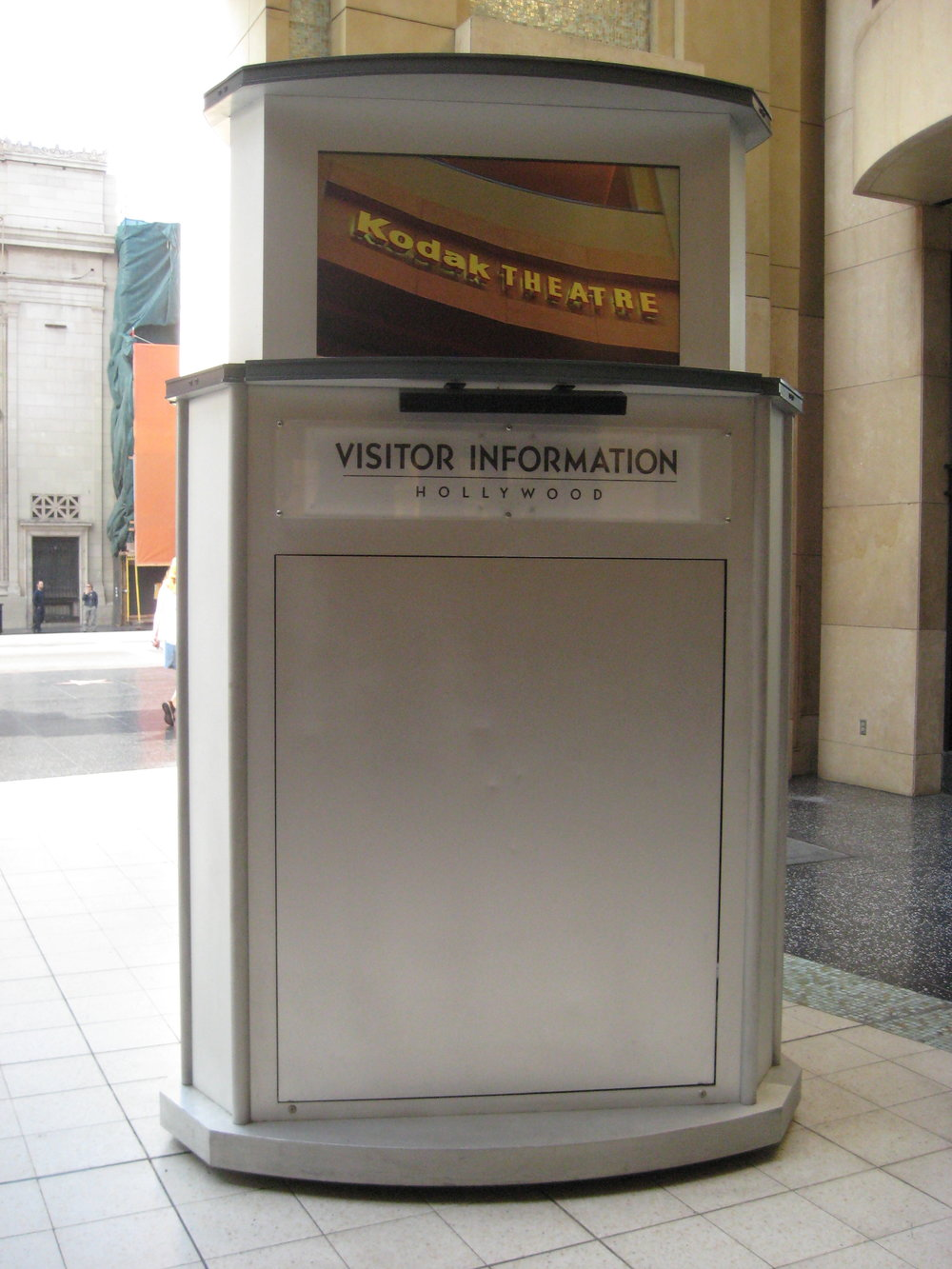 Hollywood Visitor Information Kiosk