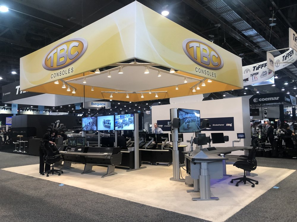 NAB 2019 - Brown Innovations shows directional technology in broadcast consoles.