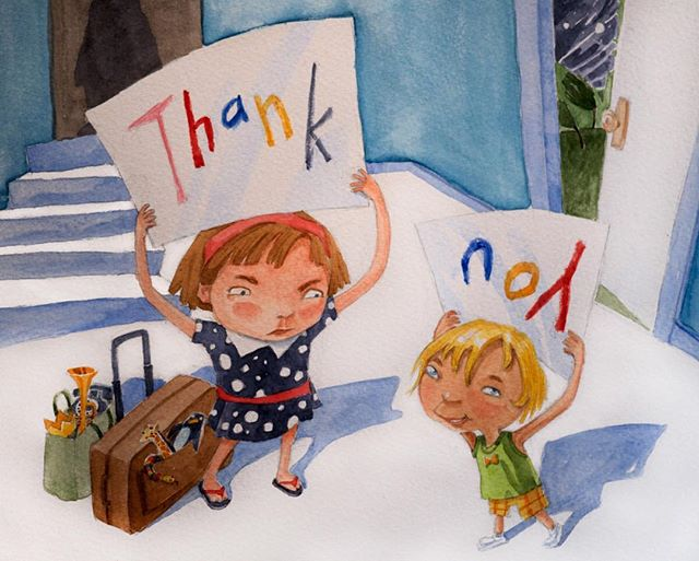 THANK YOU! 🥰 To all of you who followed, liked or commented on my new account here after the old one was stolen...I am back up to speed and smarter for it. Maybe! 😅 ALSO, sympathy to all those whose thunder was stolen by the younger! 😳 😡 🤣 ✌🏼 #instathanks #siblingrivalry #littlesister #childrensbooks #kidlit #kidlitartists #illustratorsoninstagram #illustratorsofinstagram #kidlitillustration #illustrationartist #illustration_of_the_day #childrenswritersguild #illustrationart #terrimurphy #picturebookart #childrensbookart #scbwi #illustrationforkids #womenofillustration