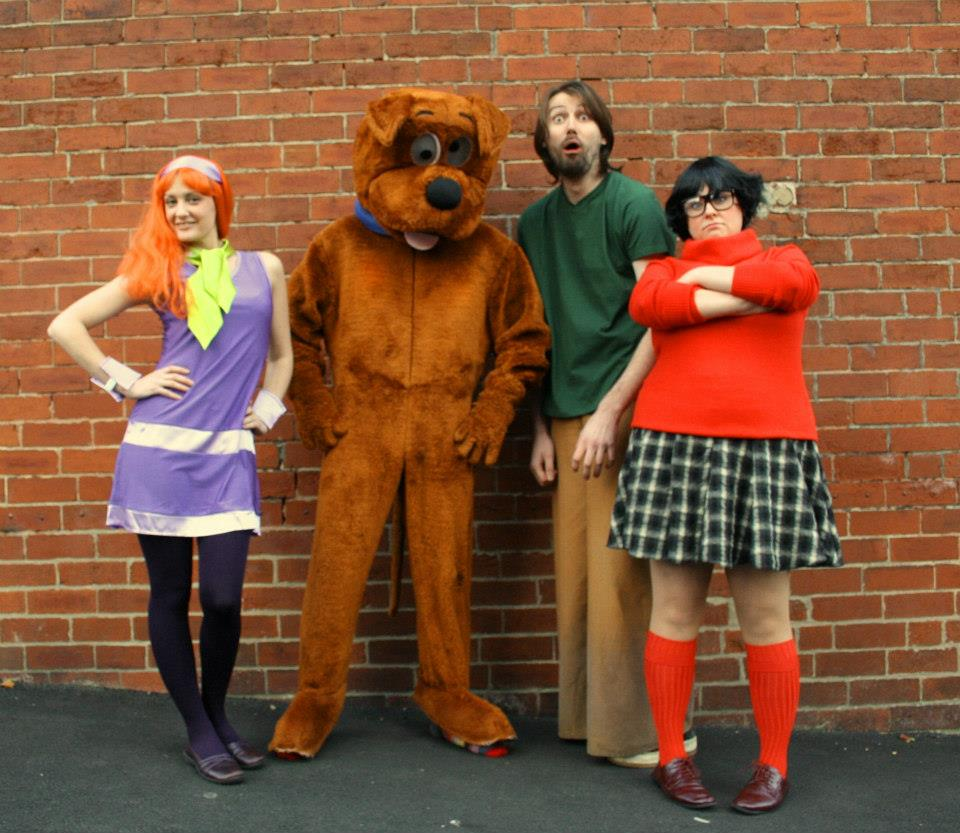 Party with Scooby Doo and the gang