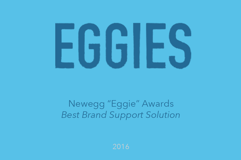 Welcome Wins Best Brand Support Solution - The Eggie Awards 2016