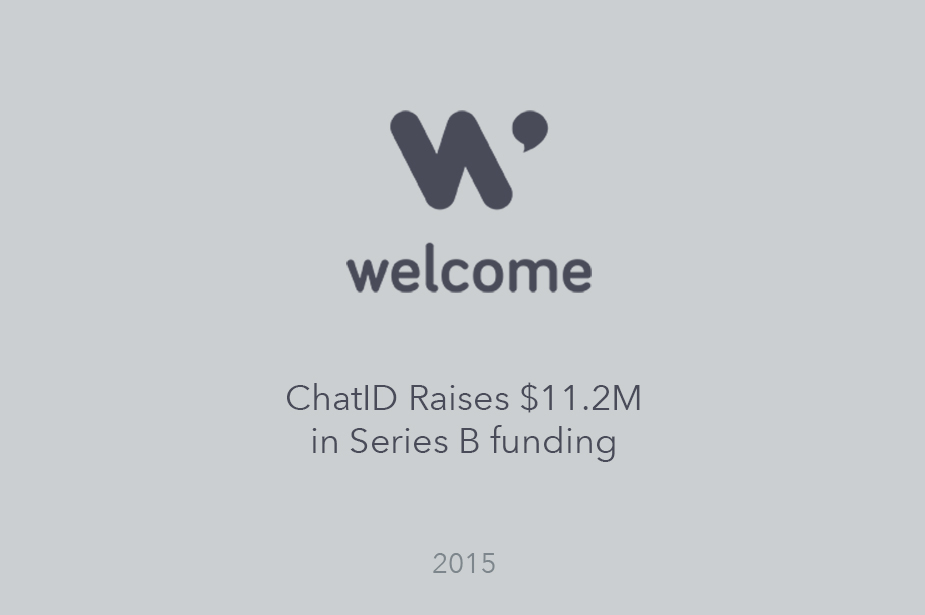 Welcome Raises 11.2 Million in Series B - Press Release