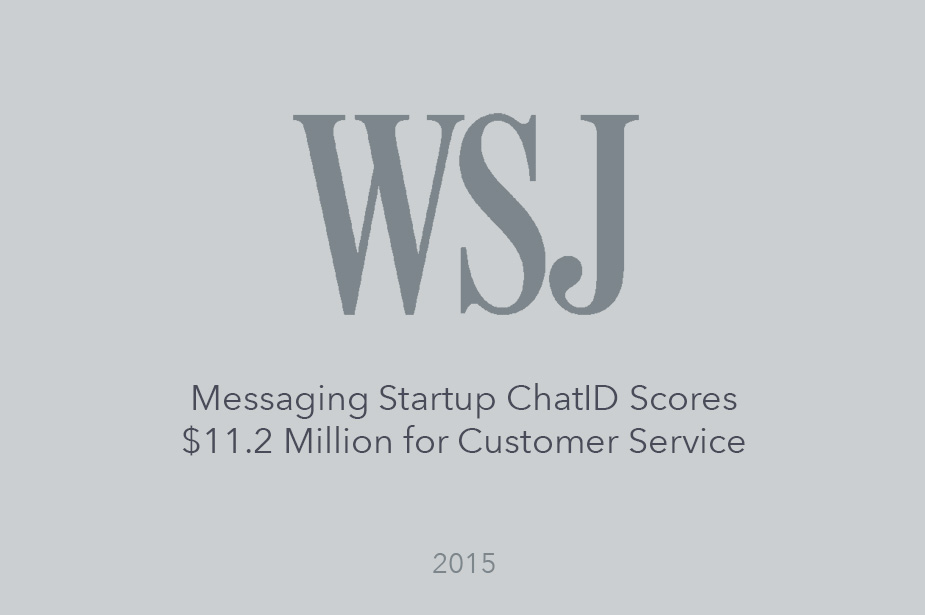 Wall Street Journal Reports on Welcome's Series B Funding Round - Article