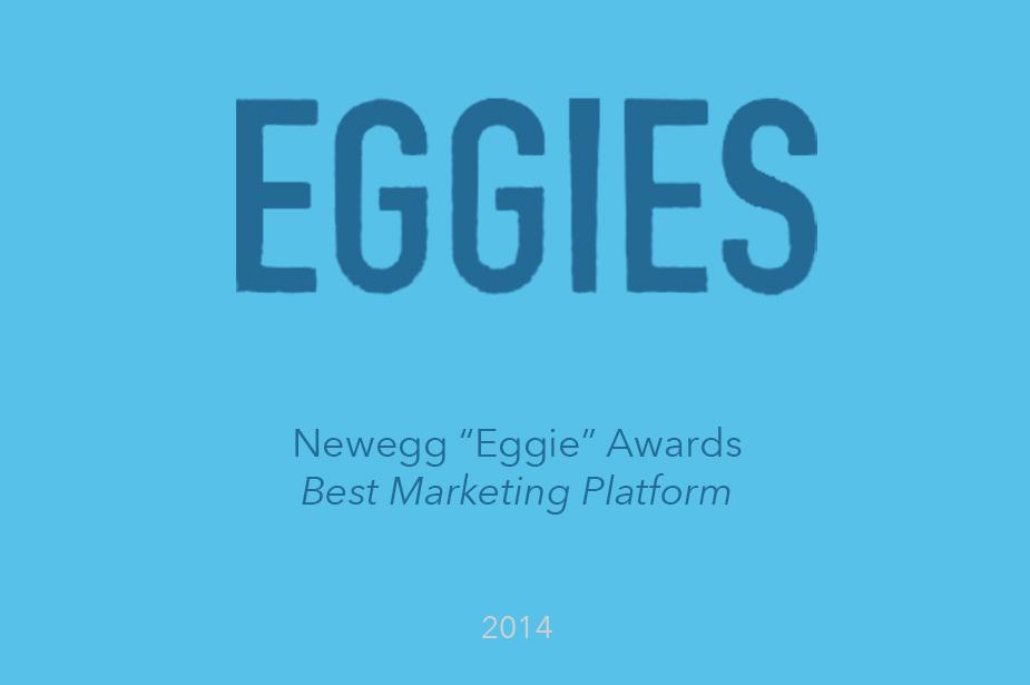 Welcome Wins Best Marketing Platform - The Eggie Awards 2014