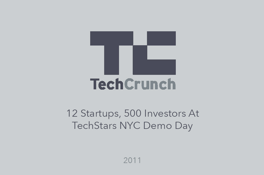 TechCrunch reports on Welcome Tops Techstars NYC Demo Day - Article