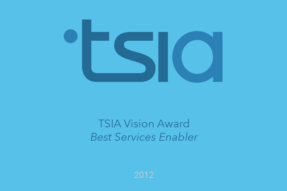 Welcome Wins Best Services Enabler - TSIA Vision Awards 2012