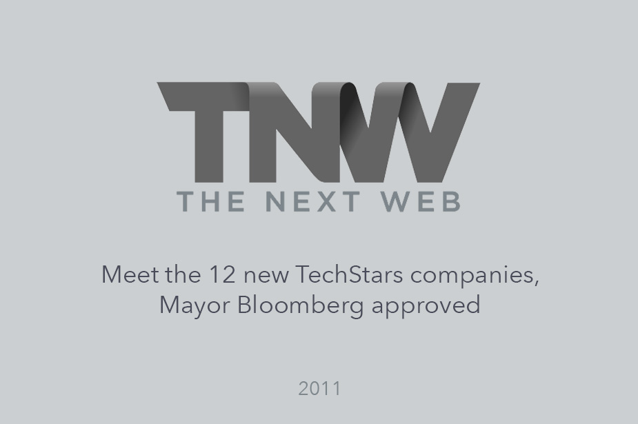 The Next Web Reports on Welcome Joining Techstars - Article