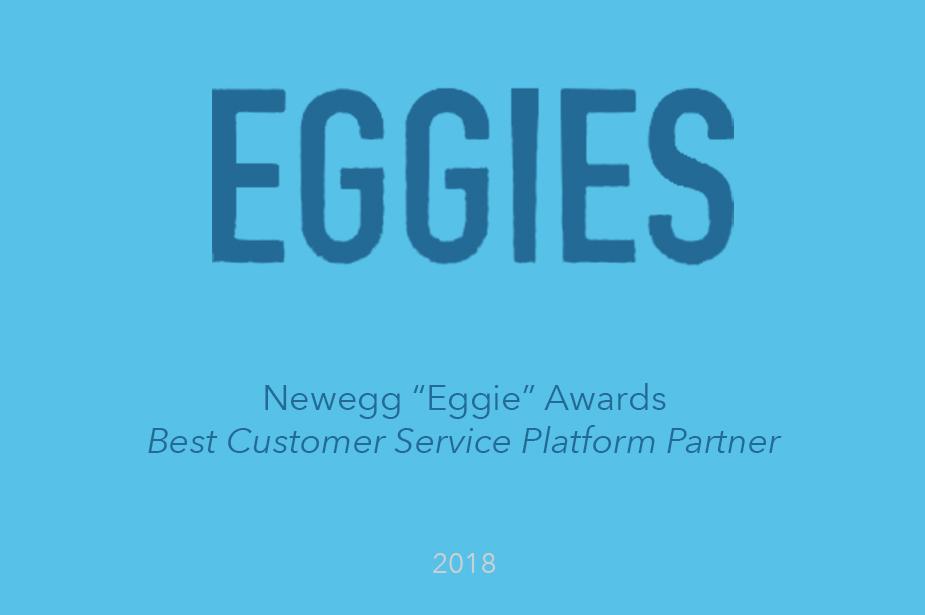 Welcome Wins Best Customer Service Platform Partner - The Eggie Awards 2018