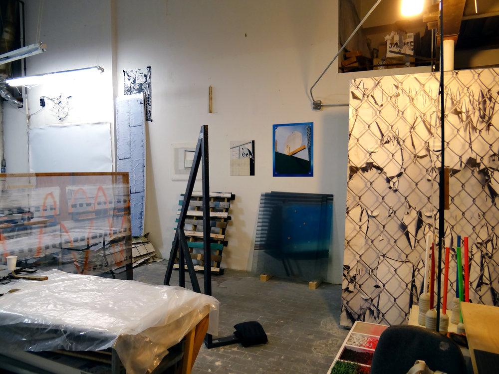 Ryan Oskin's studio