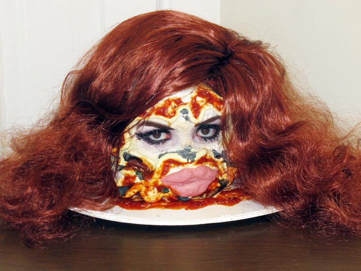 Self-portrait as Lasagna Del Rey by thestrutny
