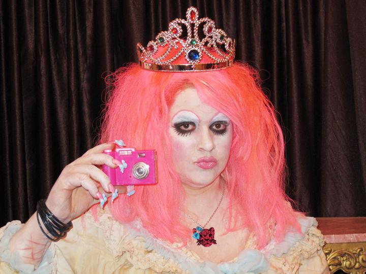 Self-portrait as gothic girl Marie Antoinette by mizbelle