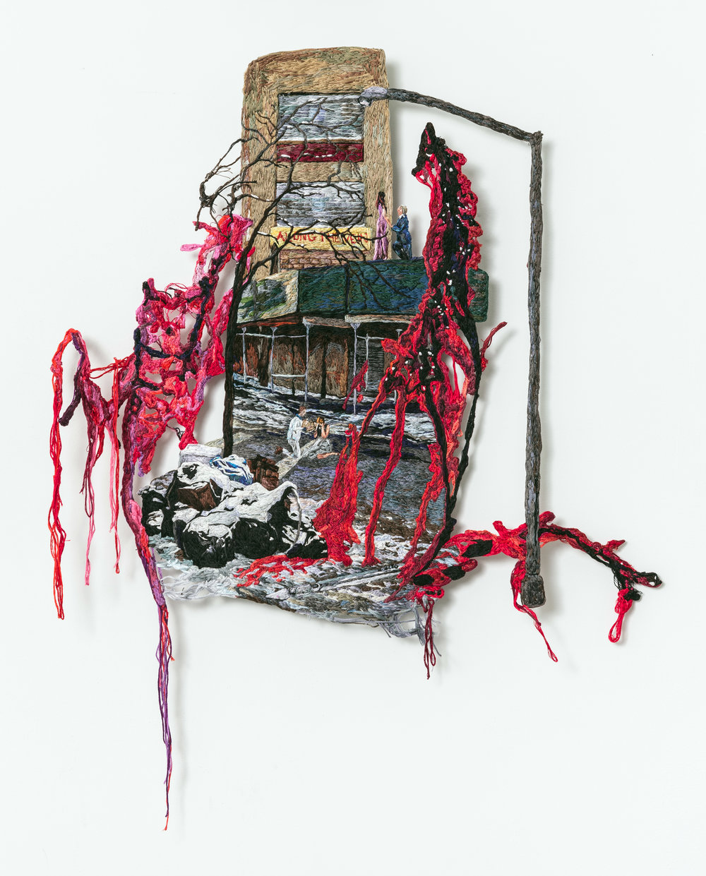 Along the Vein, Sophia Narrett, 2015, Embroidery Thread and Fabric.jpg
