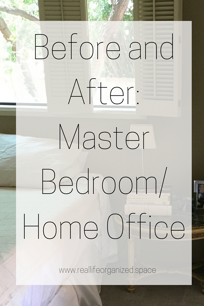 home office in master bedroom. Before And After: Master Bedroom/Home Office Home In Bedroom
