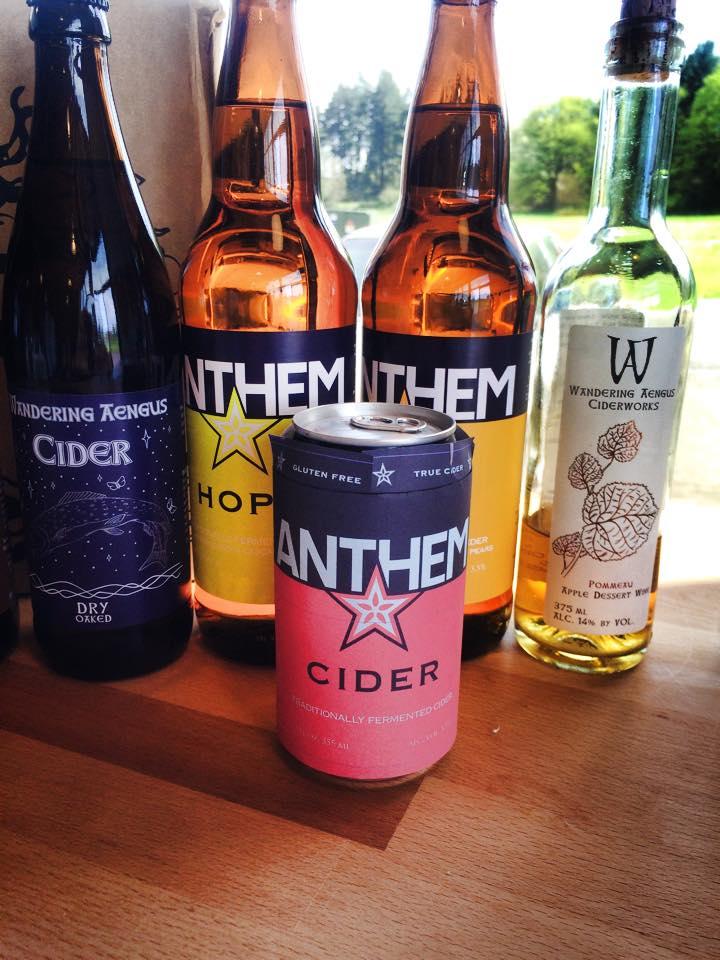 Anthem & Wandering Aengus Cider