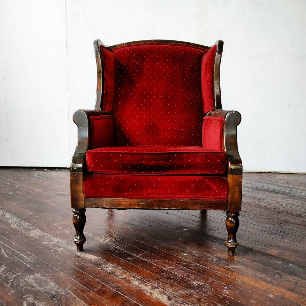 Scarlett Ou0027Chair   Red Armchair