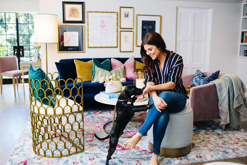 Tiffani Thiessen - Check out my shoot inside her new office