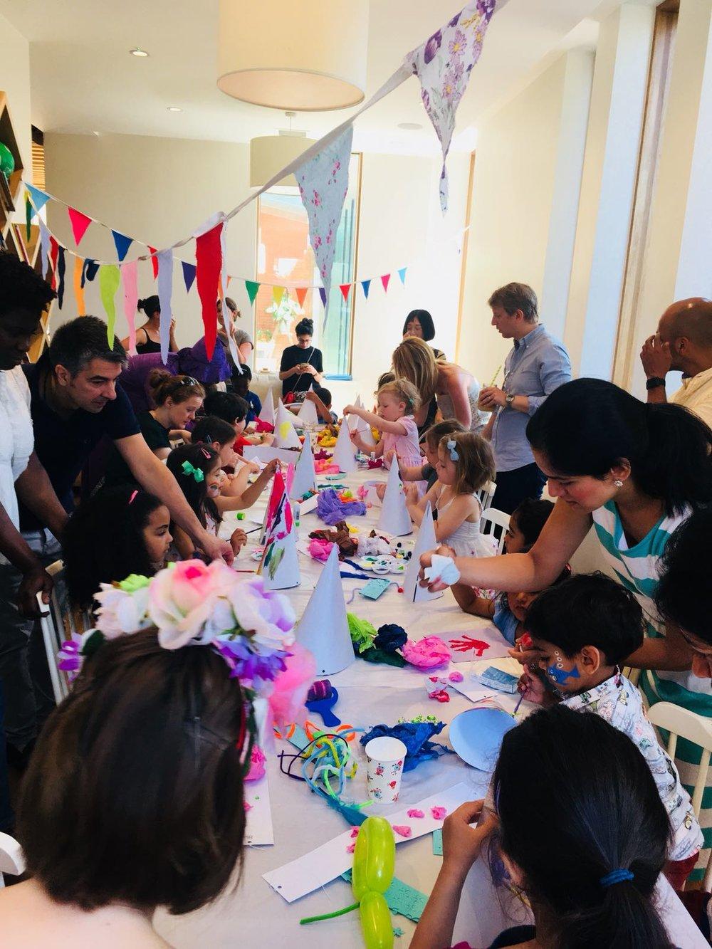 Childrens Art & Craft Birthday Parties in London