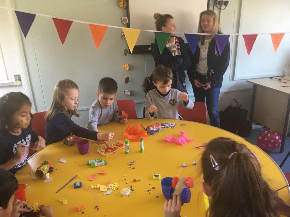 Arts & Craft Birthday Parties in London