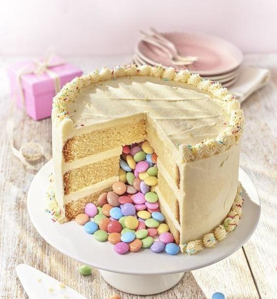 Pinata Cake! -