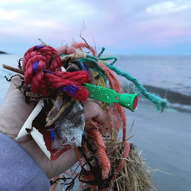 Entanglements. #plasticocean . . . . . #PlanetOrPlastic #plasticpollution #2minutebeachclean #plastigram #lovelywhale #plastics #plasticfree #beatplasticpollution #marinelitter #litterati #plogging #envhist #knowyourworld #ocean🌊 #plasticocean #justgrabbits #obligation #responsibility #storyofstuff #beachclean #anthropocene #anthropoceneart #rope #polymers #fishingline
