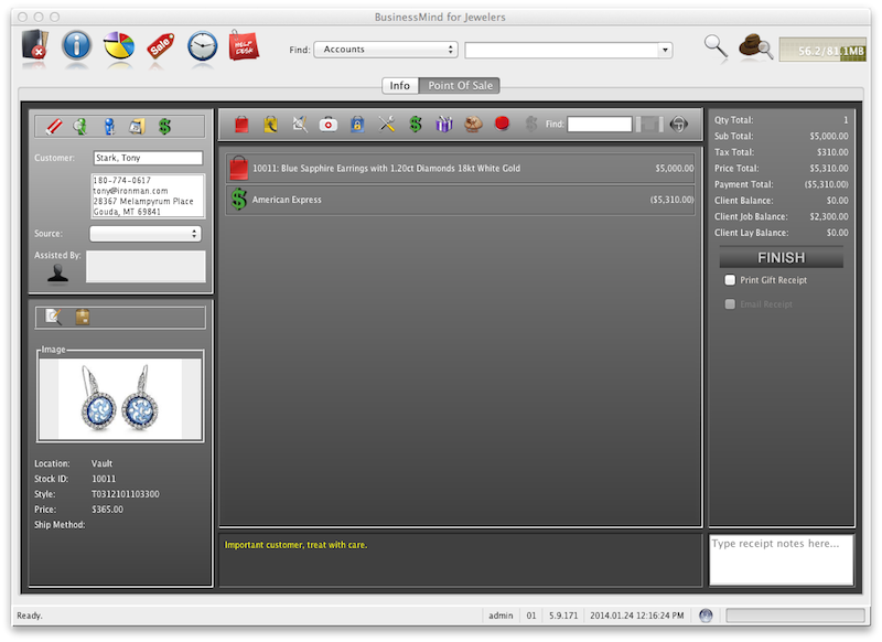 Jewelry Store Point of Sale Software Software for Jewelers Custom