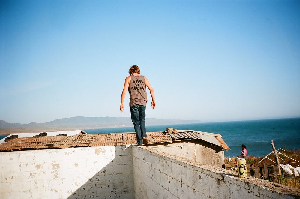 Life is a balancing act. Shot by Frank Fina while down in Baja shooting our recent Collection.