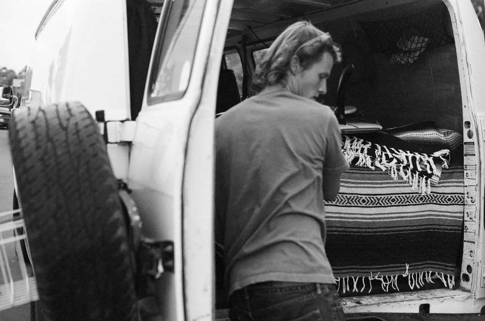 Nothing better being a surfer with a van.