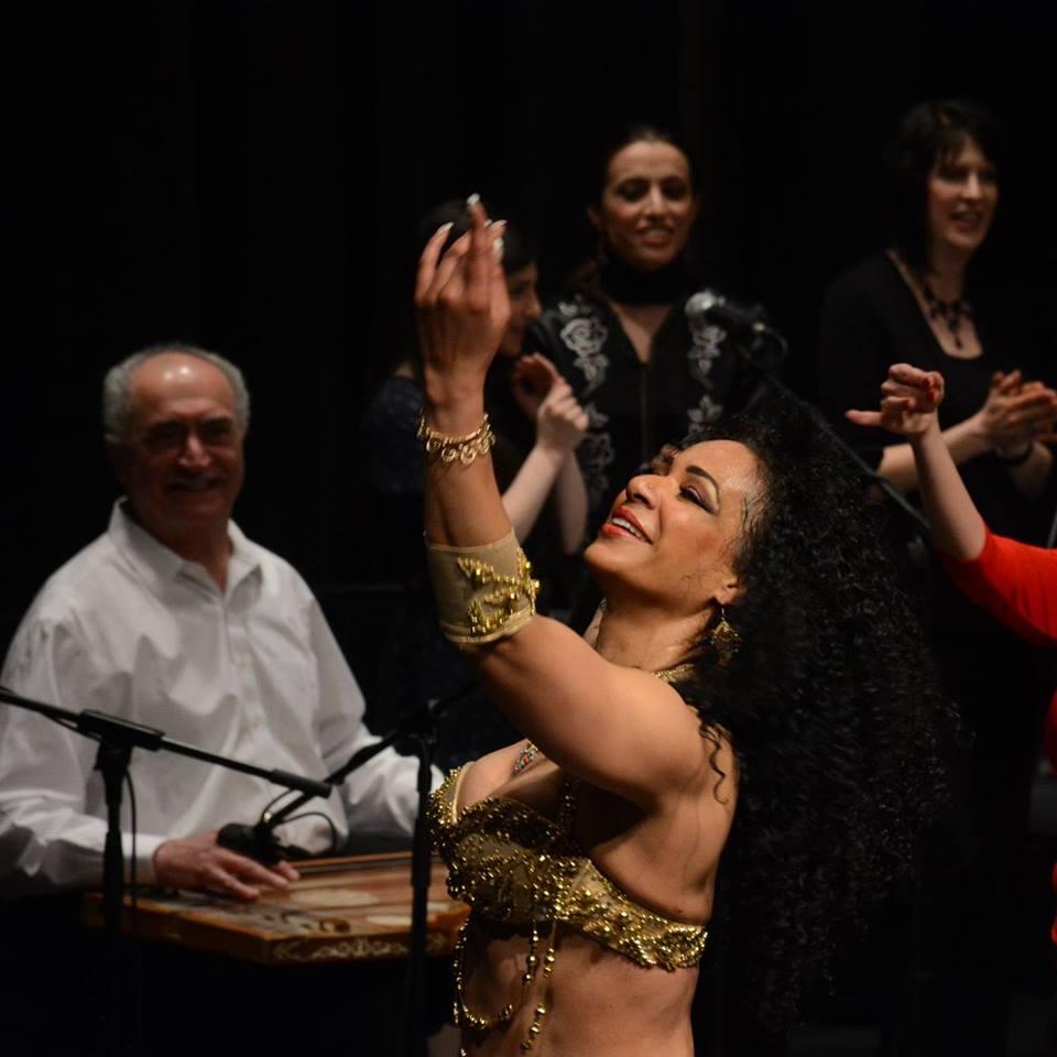 George Sawa and Mimi Ghazaal