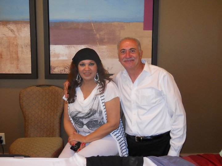 George Sawa and Fifi Abdo