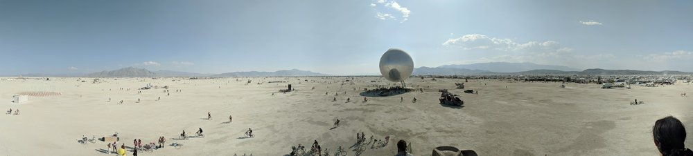 view of the central playa.