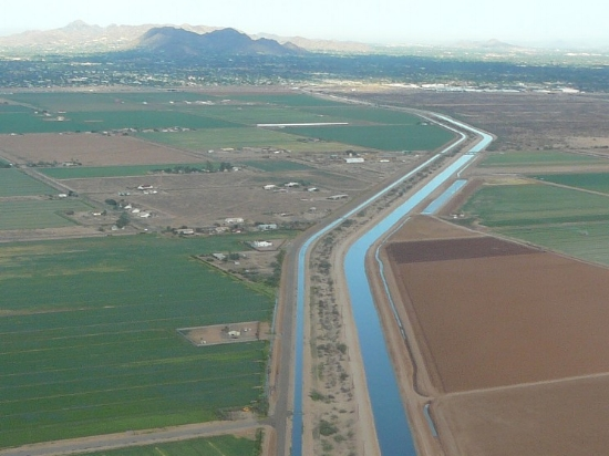 Most of our water comes from the Central Arizona Project