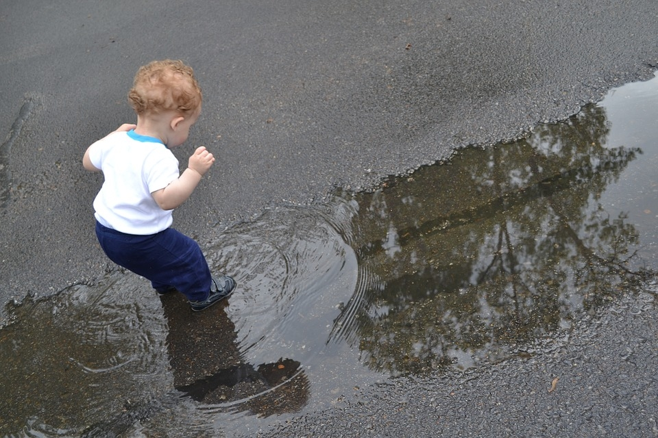 A note to people who live in kid-populated neighborhoods: the kids may want to play in the draining water, especially if there isn't a handy gutter. Therefore, it becomes essential that the water isn't hot when it's released.