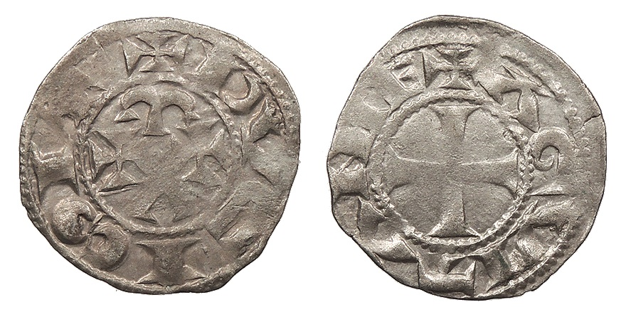 Example of Eleanor of Aquitaine silver coins. Unfortunately already sold! Copyright  Civitas Galleries.