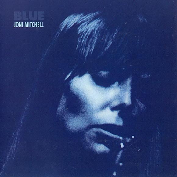 Cover of Joni Mitchell's album Blue, 1971.