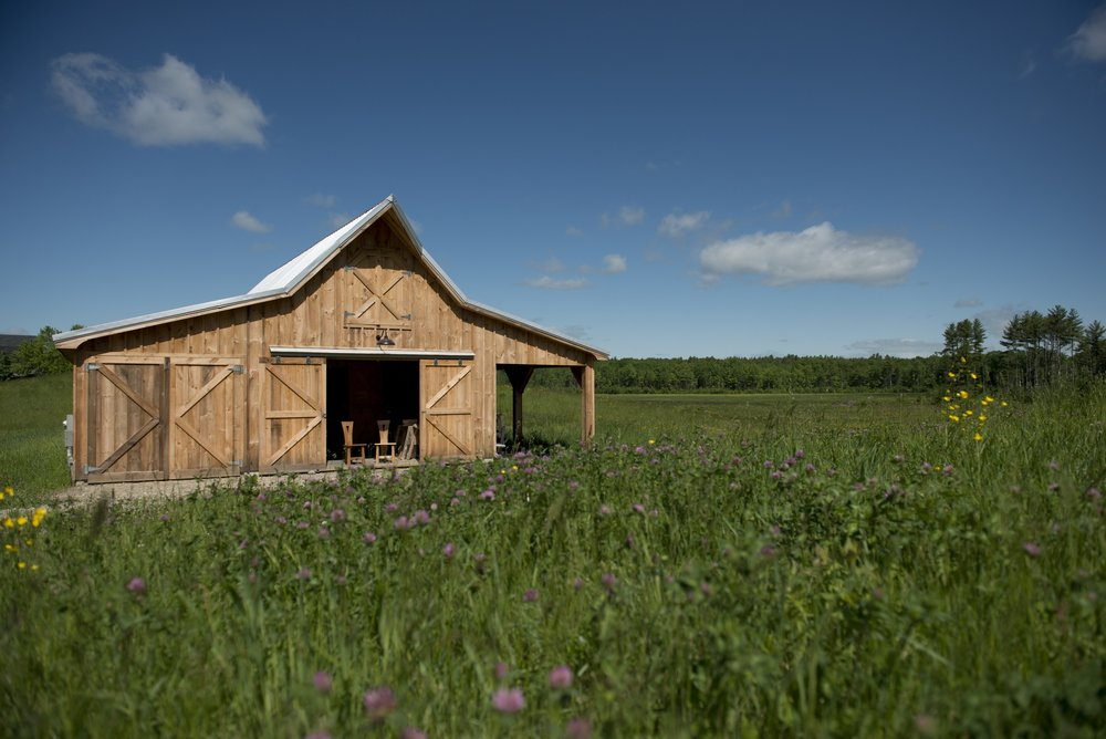 The barn, designed and built using traditional Norwegian joinery techniques, will be here for centuries after I'm gone.
