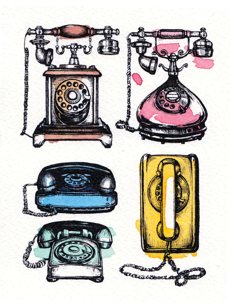 Revolutionary Technology: Rotary Phones
