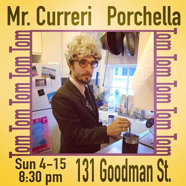 Hey Charlottesville music lovers! Make plans to walk around Belmont this Sunday evening during TomTom's Porchella.  I'll be playing on the porch of 131 Goodman St. at 8:30.