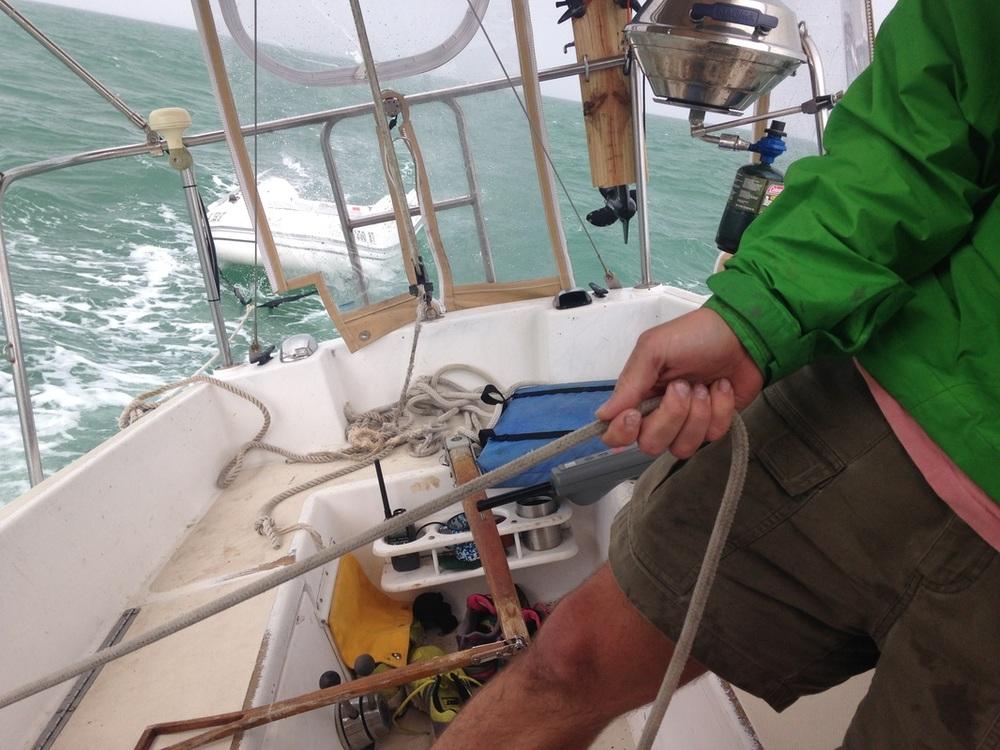 helms sailboat