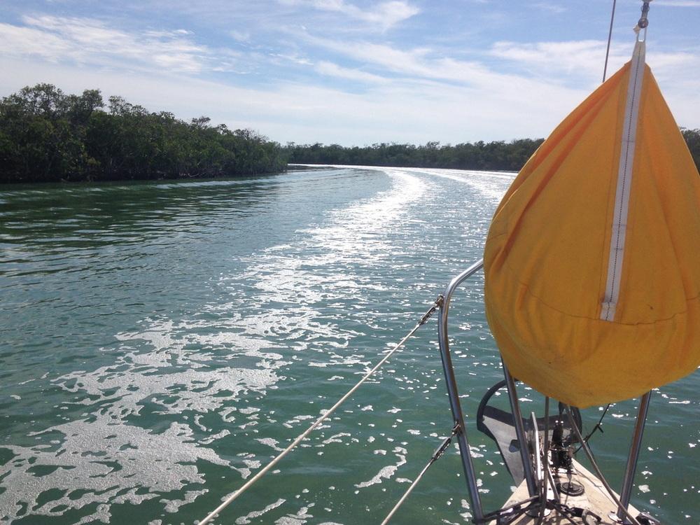 ICW sailing