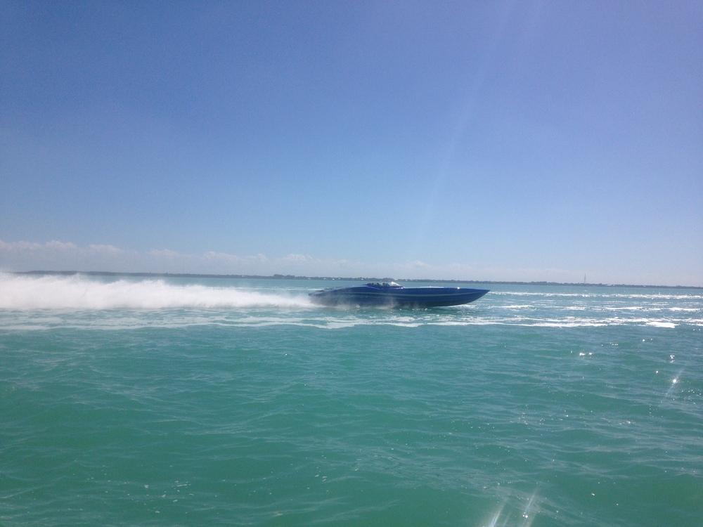 miami speedboat